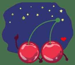 Mr. & Mrs. Cherry sticker #971758