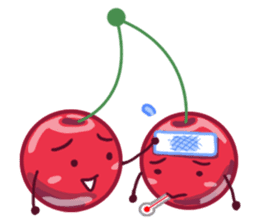 Mr. & Mrs. Cherry sticker #971763