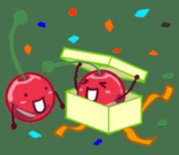 Mr. & Mrs. Cherry sticker #971764
