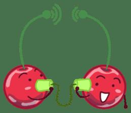 Mr. & Mrs. Cherry sticker #971766