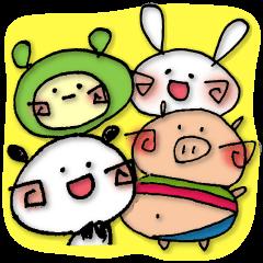 PANMERO & CUTE FRIENDS!