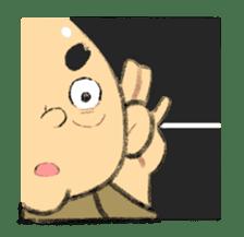 Cute Samurai sticker #977734