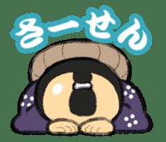 Cute Samurai sticker #977739