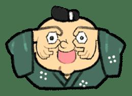 Cute Samurai sticker #977745