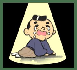 Cute Samurai sticker #977750