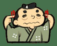Cute Samurai sticker #977760