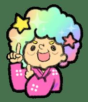 Cute Samurai sticker #977761