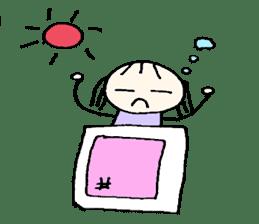 Ms.Saotome's Selfishness sticker #978880
