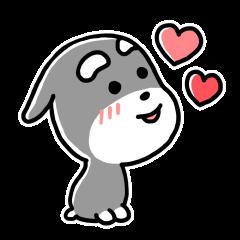 "Cuddly mascot ""Momo"""