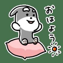 "Cuddly mascot ""Momo"" sticker #979967"