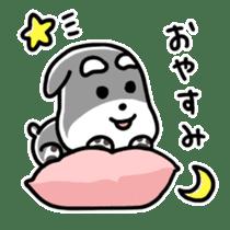 "Cuddly mascot ""Momo"" sticker #979968"