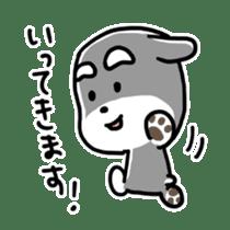 "Cuddly mascot ""Momo"" sticker #979969"