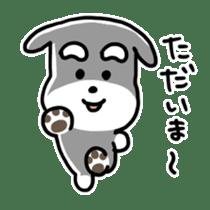 "Cuddly mascot ""Momo"" sticker #979971"