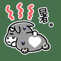 "Cuddly mascot ""Momo"" sticker #979977"