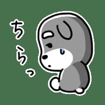 "Cuddly mascot ""Momo"" sticker #979981"