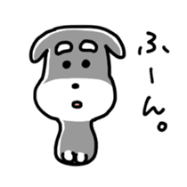"Cuddly mascot ""Momo"" sticker #979983"