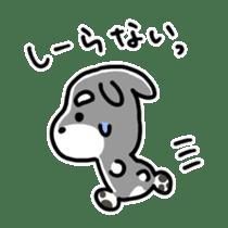 "Cuddly mascot ""Momo"" sticker #979988"