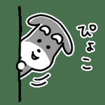 "Cuddly mascot ""Momo"" sticker #979990"