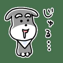 "Cuddly mascot ""Momo"" sticker #979991"