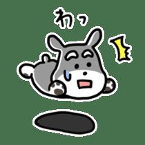 "Cuddly mascot ""Momo"" sticker #979992"