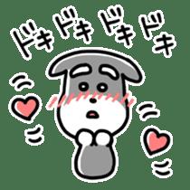 "Cuddly mascot ""Momo"" sticker #979993"
