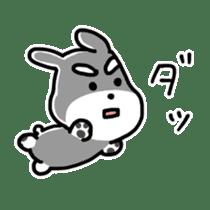 "Cuddly mascot ""Momo"" sticker #979996"