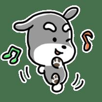 "Cuddly mascot ""Momo"" sticker #979997"