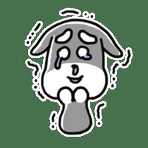 "Cuddly mascot ""Momo"" sticker #980000"