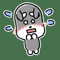 "Cuddly mascot ""Momo"" sticker #980002"
