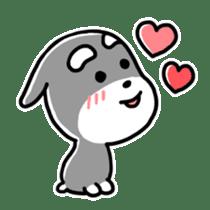 "Cuddly mascot ""Momo"" sticker #980006"