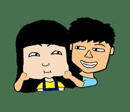 BoWei&BomBom sticker #980190