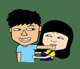 BoWei&BomBom sticker #980199