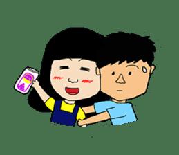 BoWei&BomBom sticker #980200