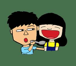 BoWei&BomBom sticker #980204