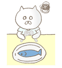 Nekonoshin (cat) sticker #980222