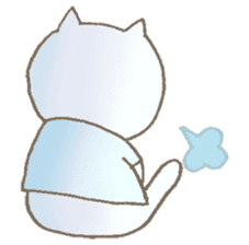 Nekonoshin (cat) sticker #980237