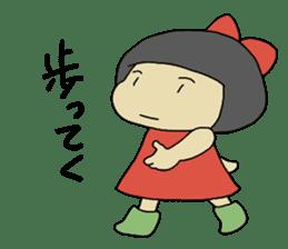 """Let's talk in an """"Ibaraki dialect"""" JPN sticker #980337"""
