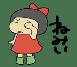"""Let's talk in an """"Ibaraki dialect"""" JPN sticker #980353"""