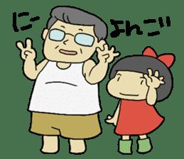 """Let's talk in an """"Ibaraki dialect"""" JPN sticker #980362"""