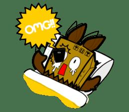 minitary : black comedy sticker #981003