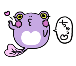 Tadpole*Zombie(transparent type) sticker #983472