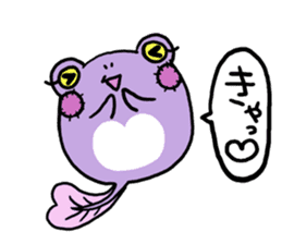 Tadpole*Zombie(transparent type) sticker #983473