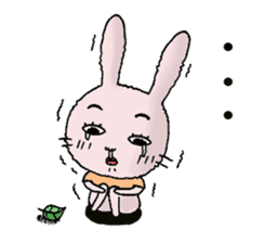 Daily life of funny rabbit sticker #984664