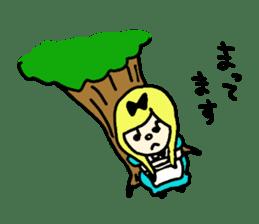 Alice in dailyland sticker #984876