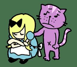 Alice in dailyland sticker #984880