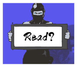 You can be a Ninja too!(English) sticker #985053