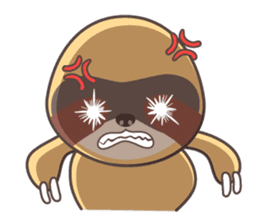 Soni, the cute little sloth sticker #985415