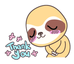 Soni, the cute little sloth sticker #985418