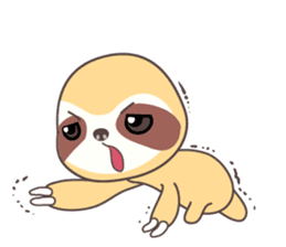 Soni, the cute little sloth sticker #985425