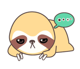 Soni, the cute little sloth sticker #985427